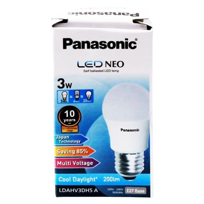 Lampu LED NEO Panasonic Cool Daylight 3 W