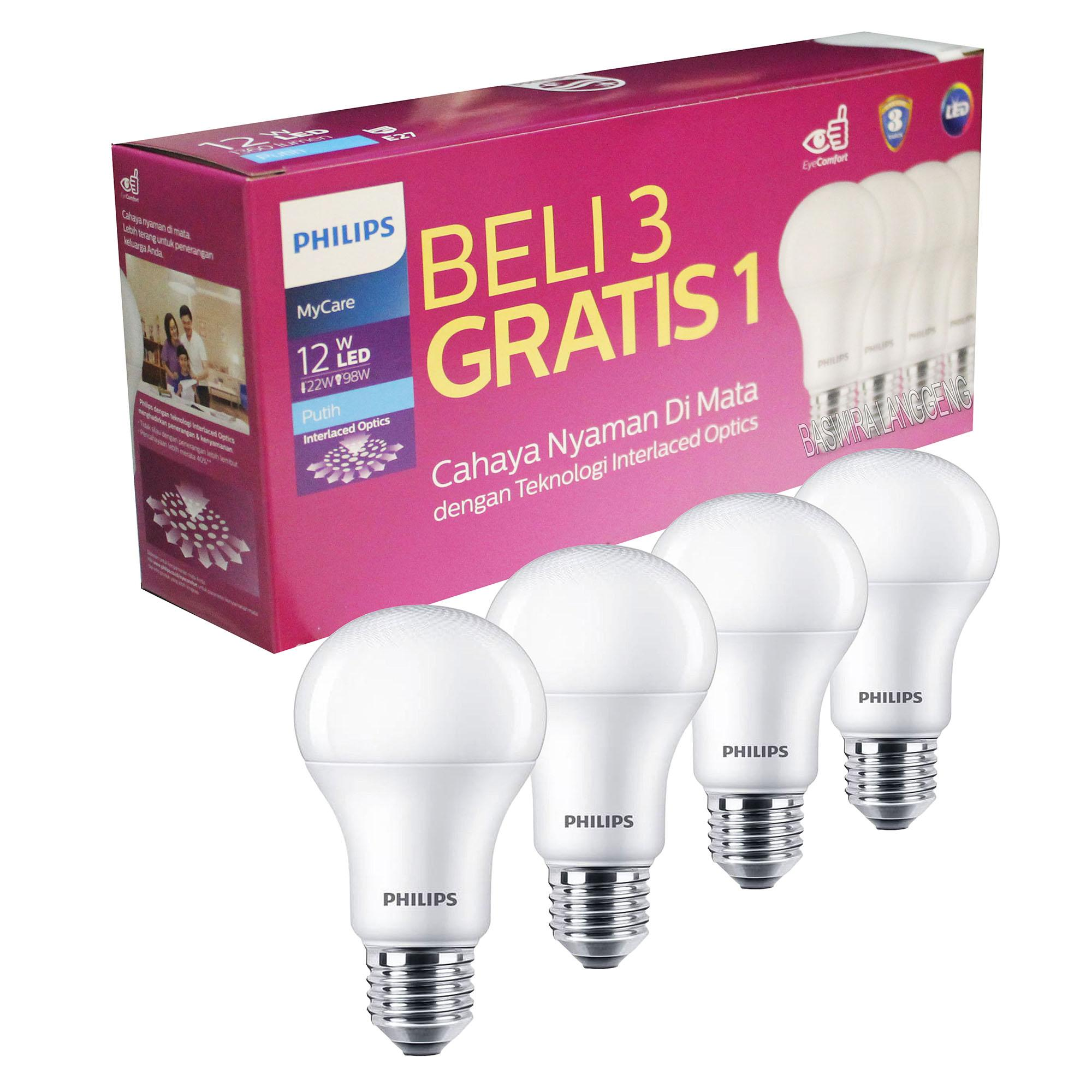 Lampu PHILIPS LED 12w