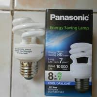 LAMPU SPIRAL CDL PANASONIC 8W