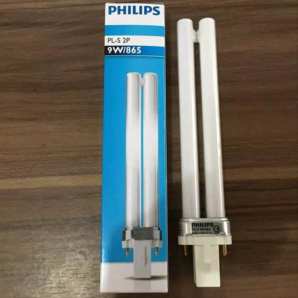 Philips Lampu PLS 2 Pin Tusuk 9 Watt