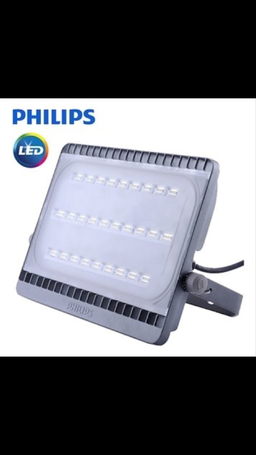 Lampu sorot LED 100w PHILIPS BVP 161